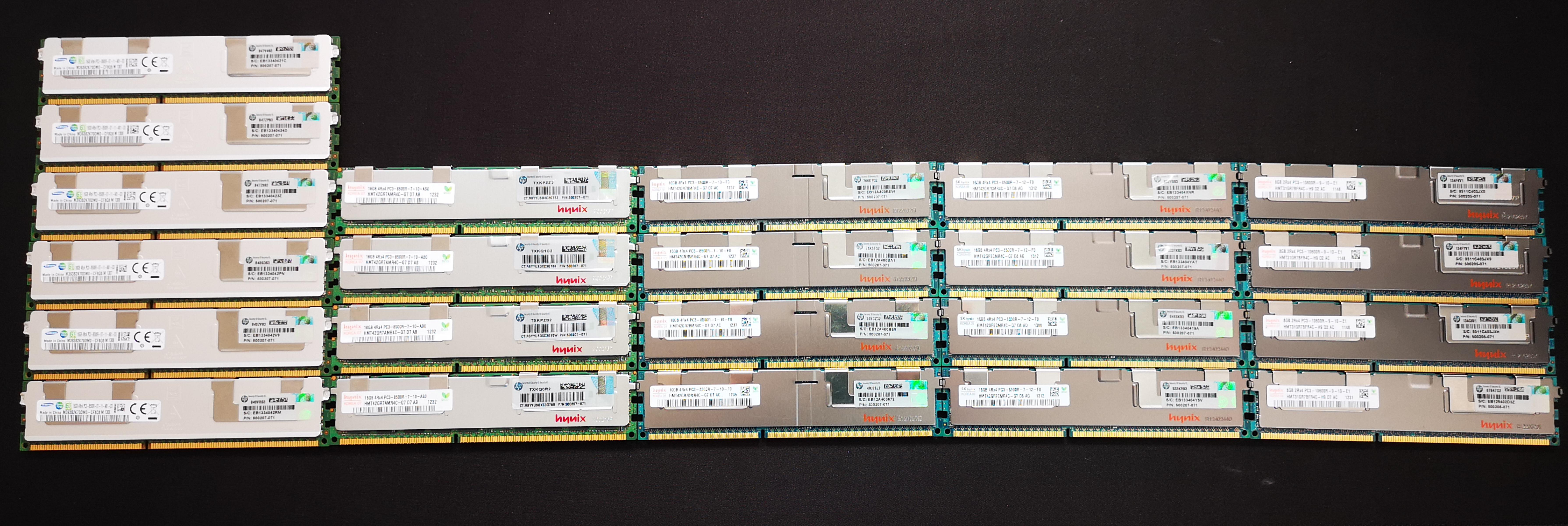 P: Predám serverové DDR3 RAM 4GB moduly